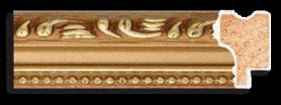 Рама 21х30см (А4) Золото. Дерево. Фоторамки. Рамы для картин.