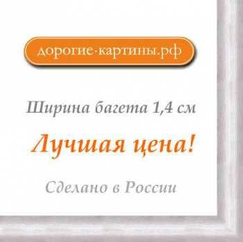 Рама №1105 50x50 см Серебро. Фоторамки. Рамы для картин.