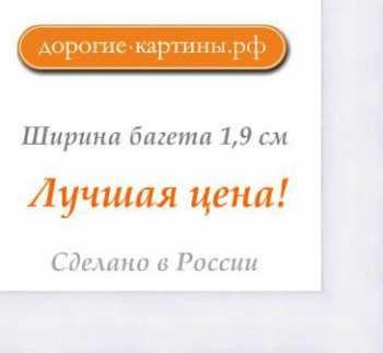 Рама №1156 50x50 см Белая