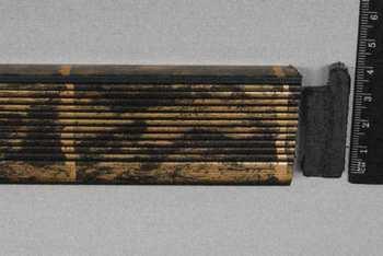 Рама №135 50x100см Коричневая с золотом