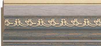Рама №1131 100x120 см Голубая