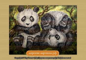 Репродукция Картины Панды. Репродукции Картин. Постеры.
