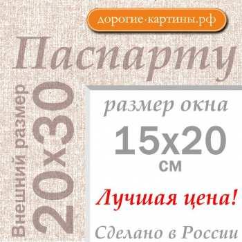 Паспарту А4 20x30 см №5