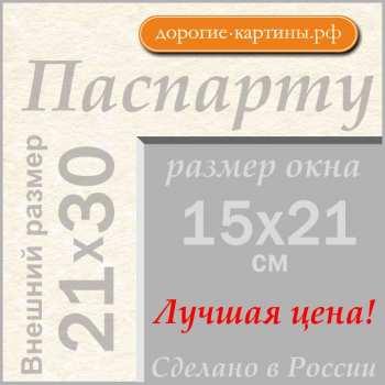 Паспарту A4 21x30 см №299