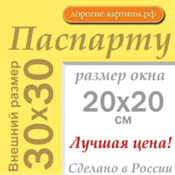 Паспарту 30x30 см №168