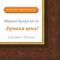 Рама №1098 70x100 см Коричневая