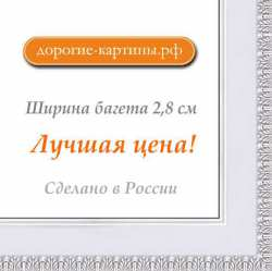 Рама №1107 50x50 см Белая