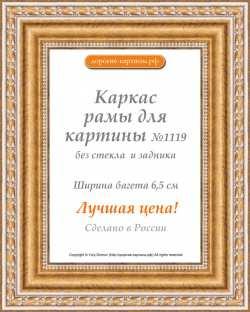 Рама №1119 50x70 см Золото