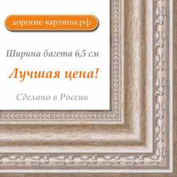 Рама №1124 100x120 см Серебро