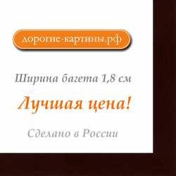Рама №141 50x60см Темно-коричневая