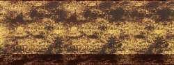 Рама №7109 40x50см Коричневая с золотом