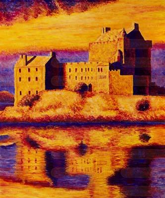 Замок мечты II. Картина. Холст. Мосло.