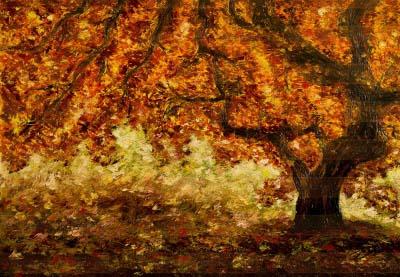 Дерево жизни. Картина. Холст. Мосло.