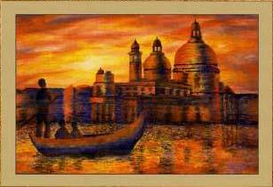 Рассвет в Венеции
