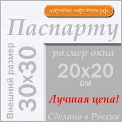 Паспарту  30x30 см №194