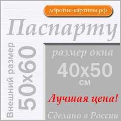 Паспарту  50x60 см №194