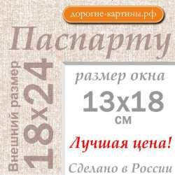 Паспарту 18х24 см №5