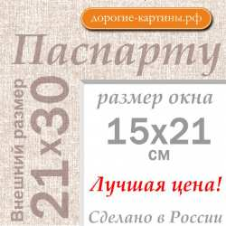 Паспарту А4 21x30 см №5