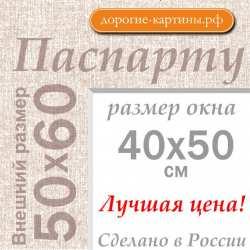 Паспарту 50х60 см №5