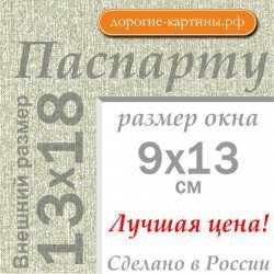 Паспарту 13х18 см №9