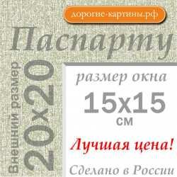 Паспарту 20х20 см №9