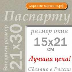 Паспарту А4 21x30 см №2