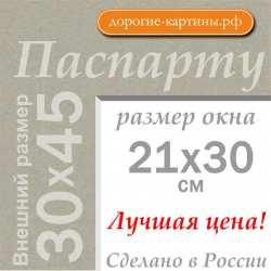 Паспарту А3 30х45 см №2
