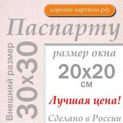 Паспарту 30x30 см №185