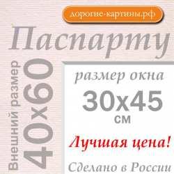 Паспарту A2 40x60 см №185
