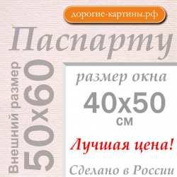 Паспарту 50x60 см №185
