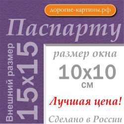 Паспарту 15x15 см №178