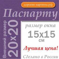 Паспарту 20x20 см №178