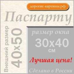 Паспарту 40x50 см №299