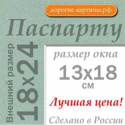 Паспарту 18x24 см №173