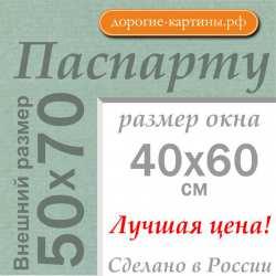 Паспарту 50x70 см №173