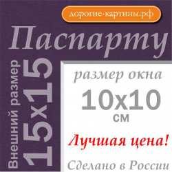 Паспарту 15x15 см №179