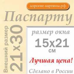 Паспарту A4 21x30 см №1