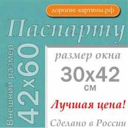 Паспарту A2 42x60 см №174