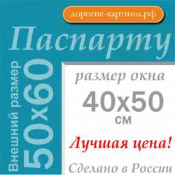 Паспарту 50x60 см №175