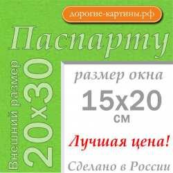 Паспарту A4 20x30 см №172