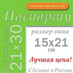 Паспарту A4 21x30 см №172