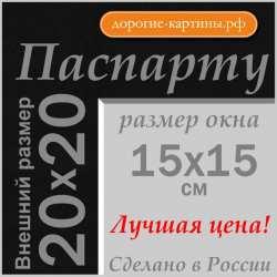 Паспарту 20x20 см №181
