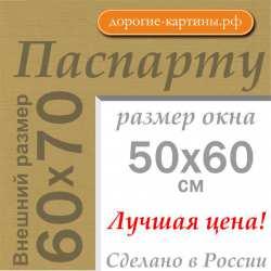 Паспарту 60x70 см №166