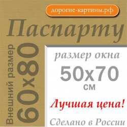 Паспарту A1 60x80 см №166