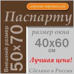 Паспарту 50x70 см №161