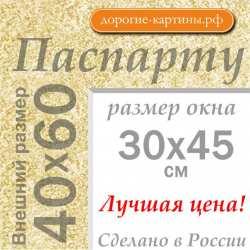 Паспарту A2 40x60 см №183