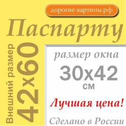 Паспарту A2 42x60 см №168