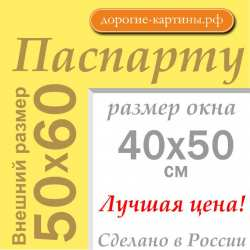 Паспарту 50x60 см №168