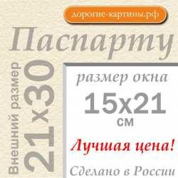 Паспарту А4 21x30 см №3