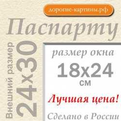 Паспарту 24x30 см №3